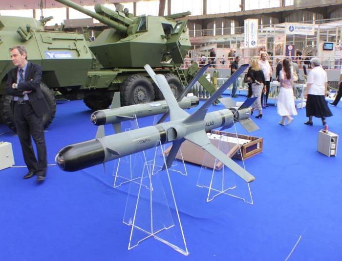 ソニーのCCD素子が使用されているセルビアの対戦車ミサイル、ALAS(Advanced Light Attack missile System)