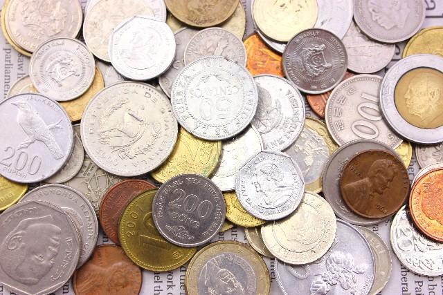 色々な国の外貨