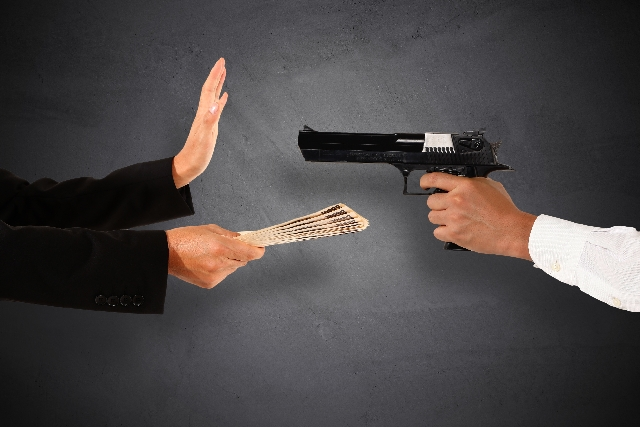 犯罪と罰金。