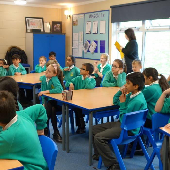 筆者が訪れたイギリスの公立小学校