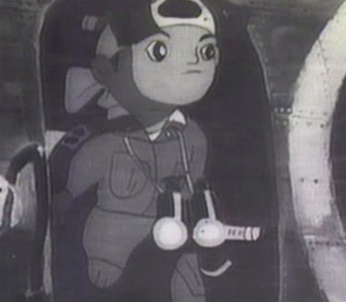 150818seo01戦闘機から姿を見せる桃太郎「??? ??? 兵」より