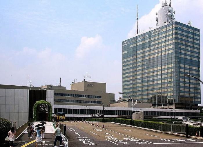 NHK放送センター。
