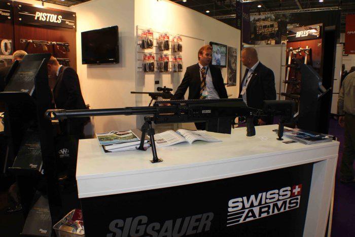 スイス・アームズ社が新型の対物ライフル、SAN511