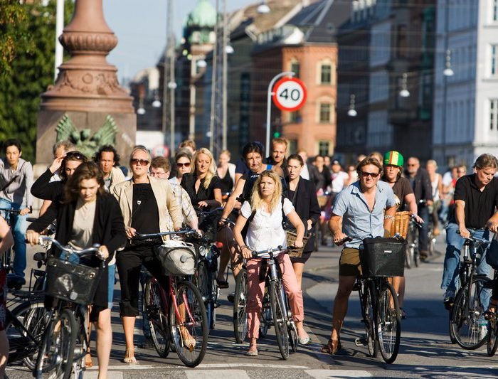 Life in Copenhagen is lived in the saddle of a bicycle. Everybody does it. Bike that is. In Copenhagen, we bike whether there is sun, rain or snow. We bike to work, to school, to bring the kids to kindergarten, to shop for groceries and to social gatherings. Cycling is fast, convenient, healthy, climate-friendly, enjoyable - and cheap, although Copenhageners honestly love their bikes no matter their financial income. Even top politicians ride their bike every day to parliament.For more information about the Copenhagen bike culture: http://www.visitcopenhagen.com/copenhagen/sightseeing/bike-city-copenhagen