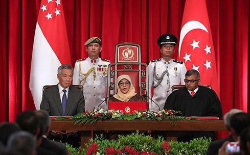 シンガポール新大統領