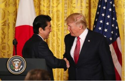 日米首脳会談2月10日