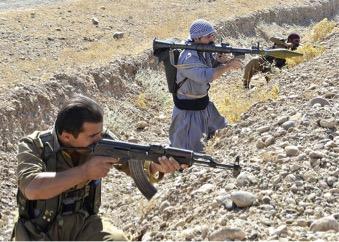 クルド勢力兵士