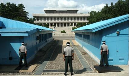 韓国北朝鮮軍事境界線