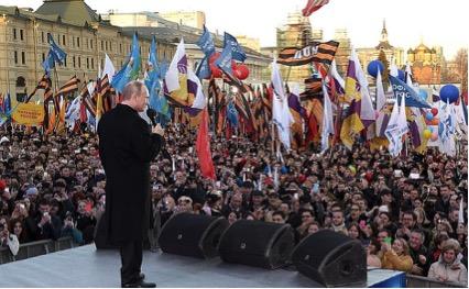 プーチン大統領スピーチ