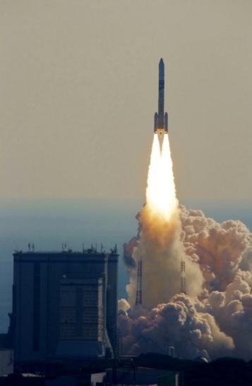 2017年12月23日午前10時26分に種子島宇宙センターから打ち上げられたH-IIAロケット37号機