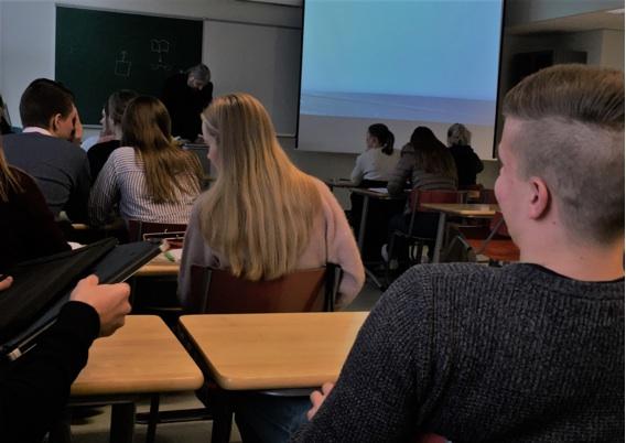写真)授業風景